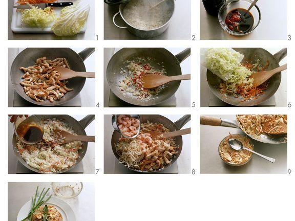 Nasi Goreng zubereiten