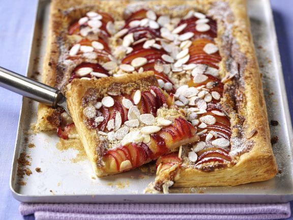 Nektarinen-Mandel-Kuchen