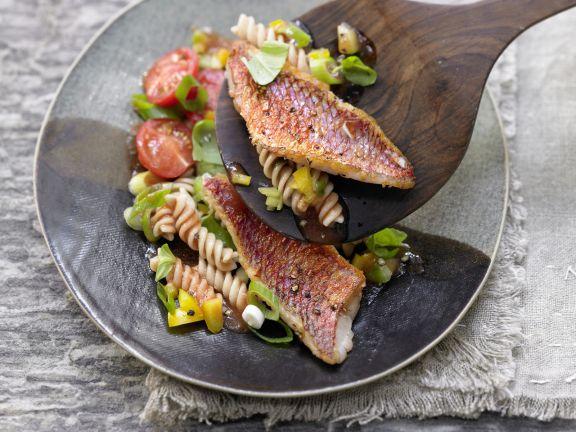 Nudel-Gemüse-Salat