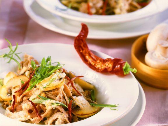 Nudeln Mit Champignonsauce Rezept Eat Smarter