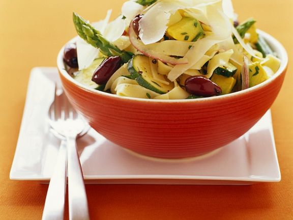 Nudeln mit Gemüse