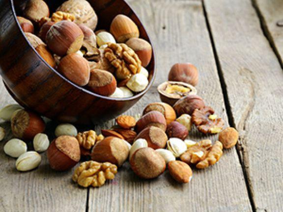 Die beliebtesten Nüsse im Check.