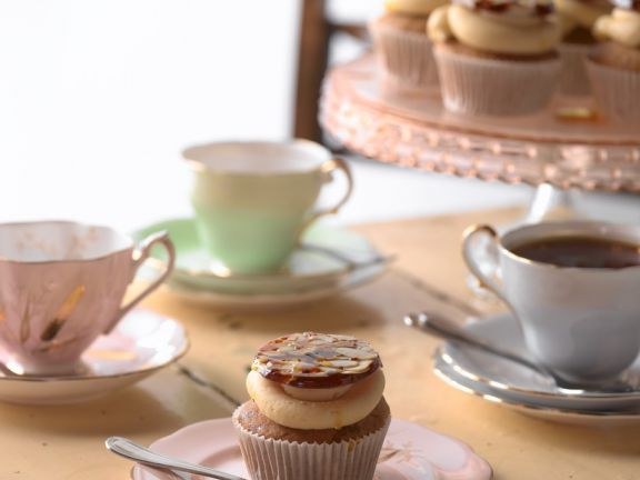 Nuss-Honig-Cupcakes