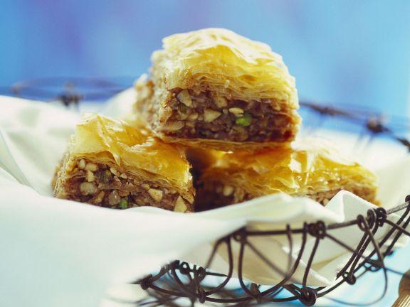 Nuss-Honig-Honig nach orientalischer Art (Balava)