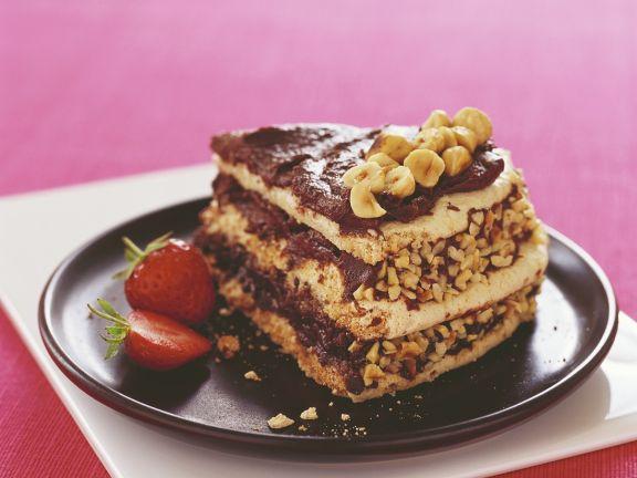 Nuss-Meringue-Torte