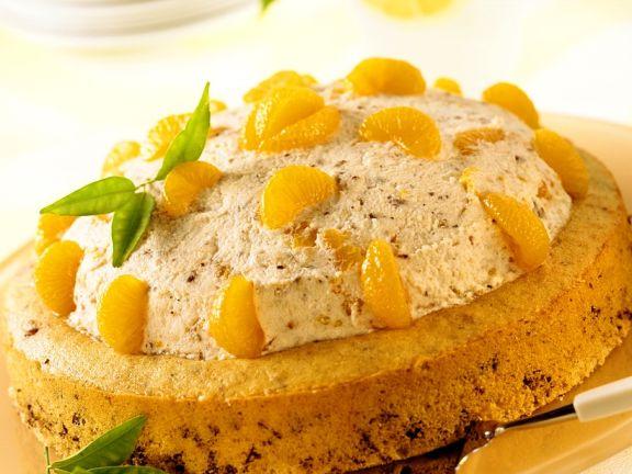 Nuss Sahne Torte Mit Mandarinen Rezept Eat Smarter