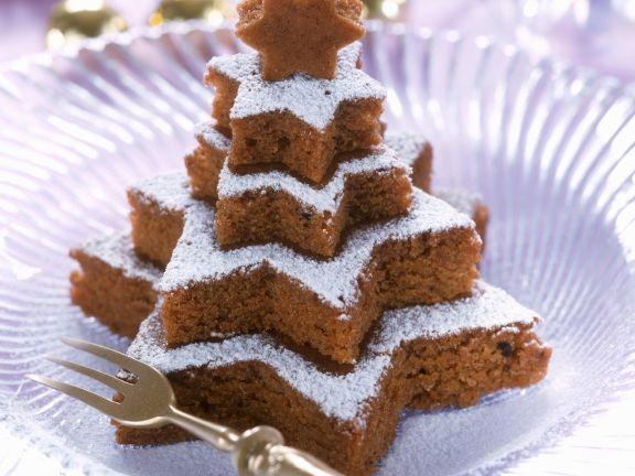 Nuss-Schoko-Kuchen an Weihnachten