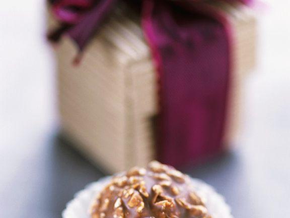 Nuss-Schokoladenpraline