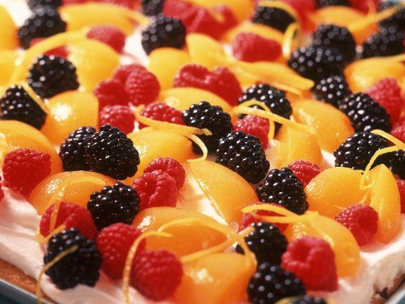Obstkuchen vom Blech