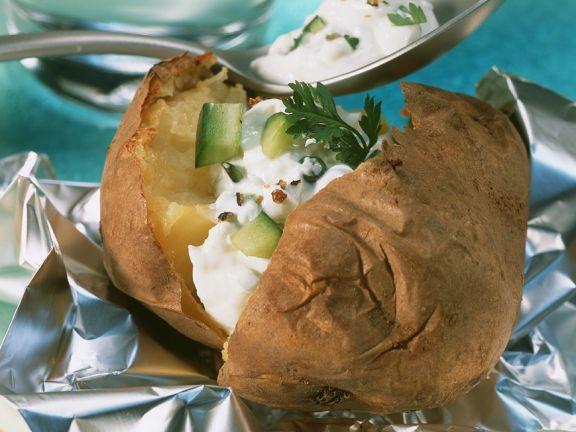 Ofenkartoffel Quark