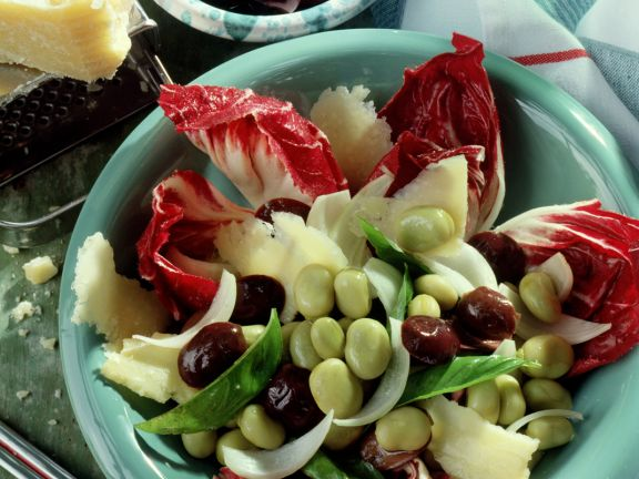 Olivensalat mit Dicken Bohnen
