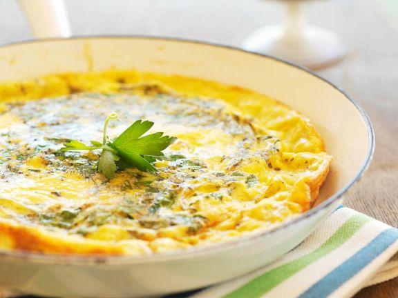 Omelette mit Kräutern