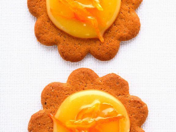 Orange-Curd-Plätzchen