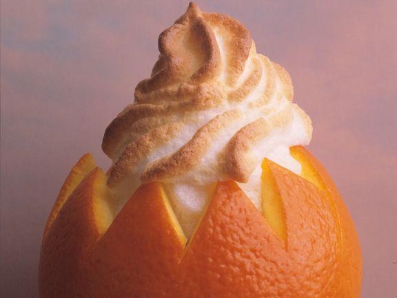 Orangen-Meringue