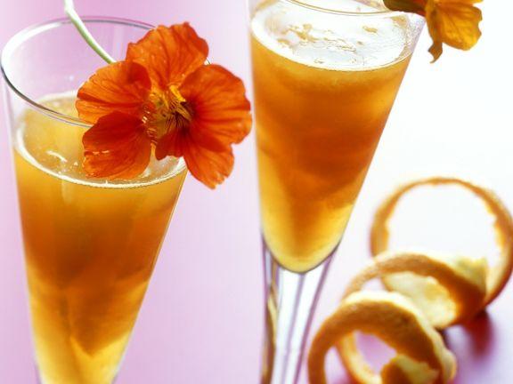 Orangen-Sektgelee