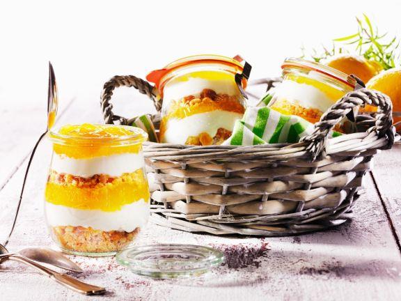 Orangen-Trifle