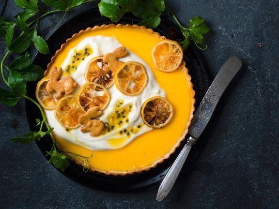 Orangen-Zitronen-Tarte