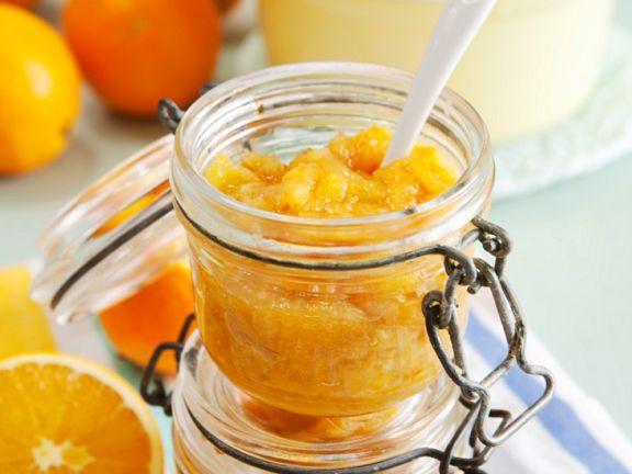 Orangenaufstrich