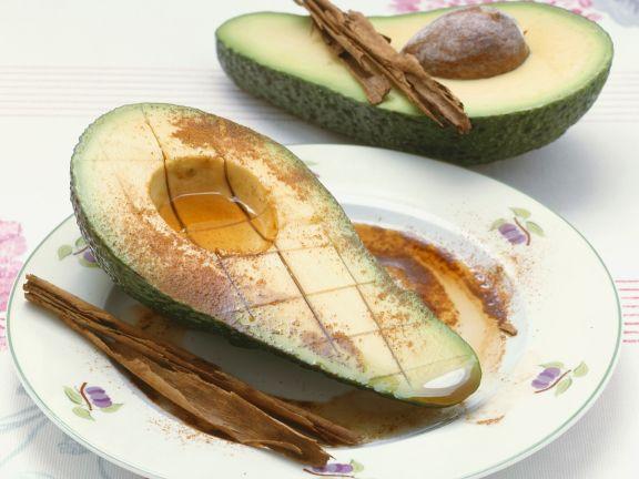 Orientalisch gewürzte Avocado