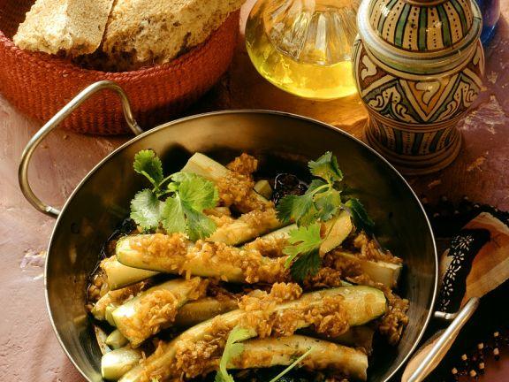 Orientalische Zucchini