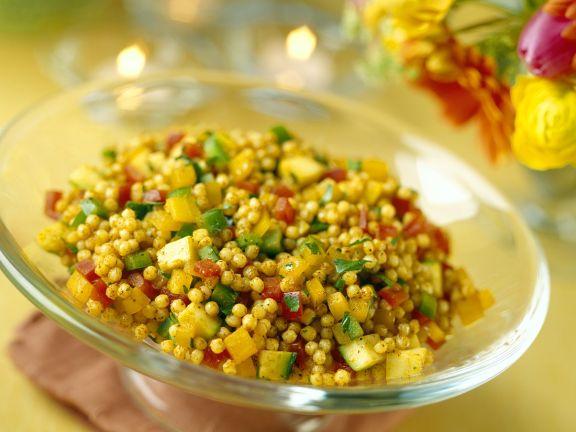 Orientalischer Couscous mit Gemüse