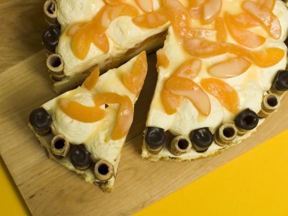 Ostertorte Pfirsich