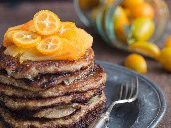 Pancakes mit Chia-Samen