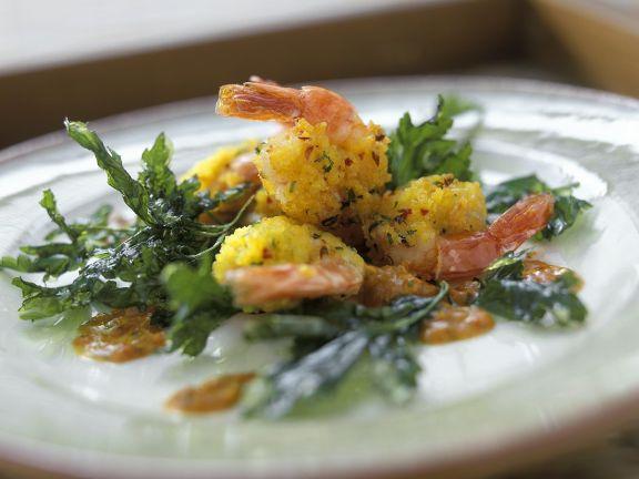Panierte Shrimps