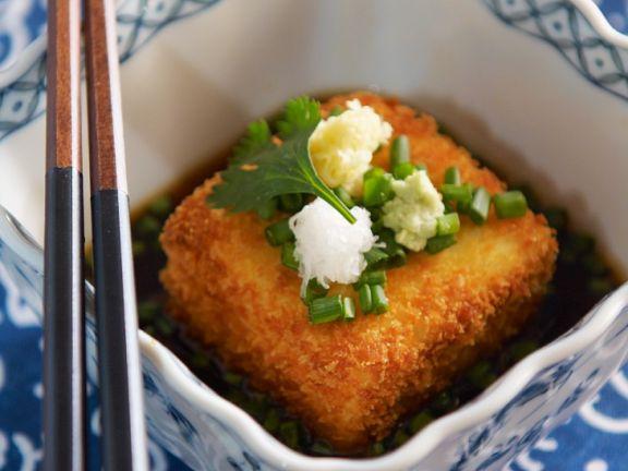 Panierter Tofu