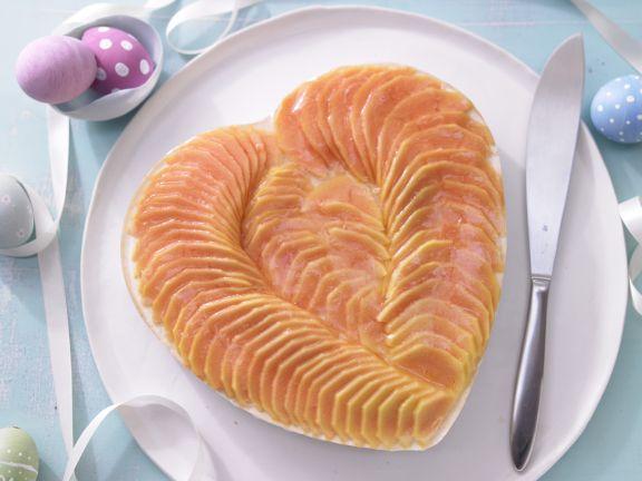 Rezept: Papaya-Herztorte