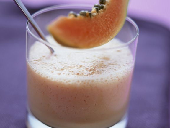 Papaya-Joghurt-Drink