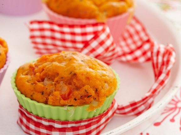 Paprika-Ricotta-Muffin