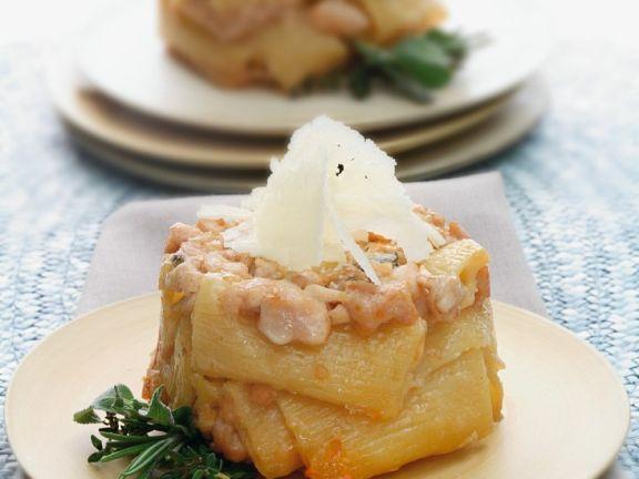 Pasta mit Ragout vom Kaninchen
