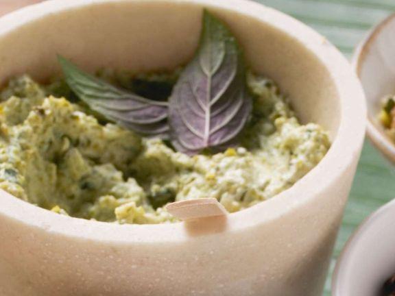 Pesto aus Kräutern