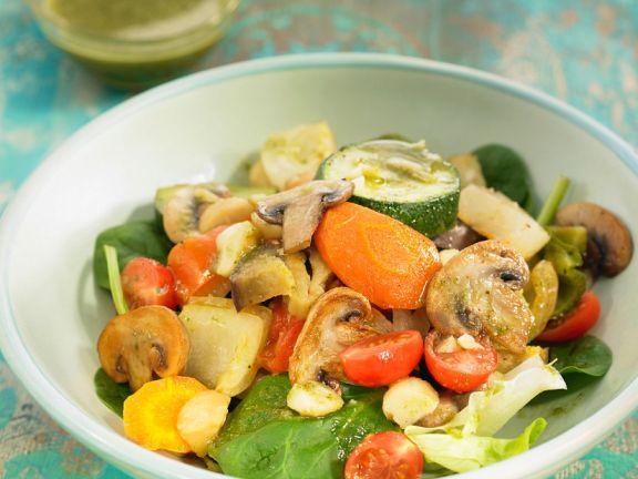 Pesto-Gemüsesalat