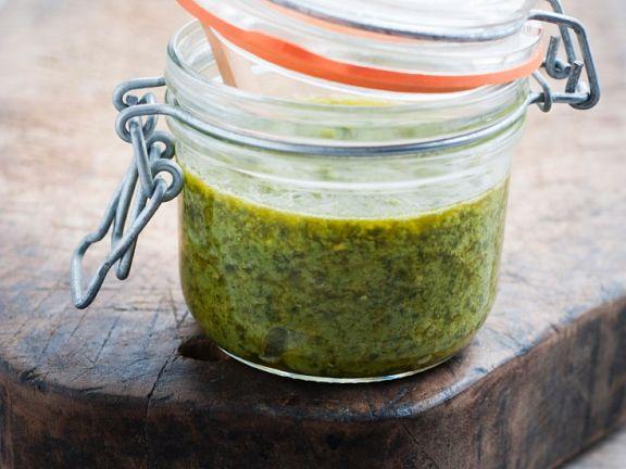 Pesto mit Spargel
