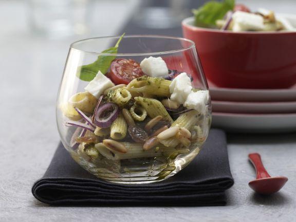 Pesto-Nudelsalat