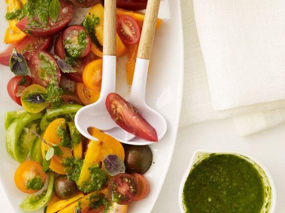 Pesto-Tomatensalat