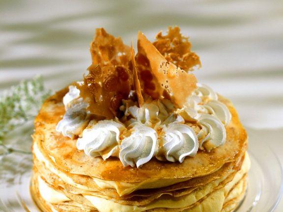 Pfannkuchen-Sahnetorte