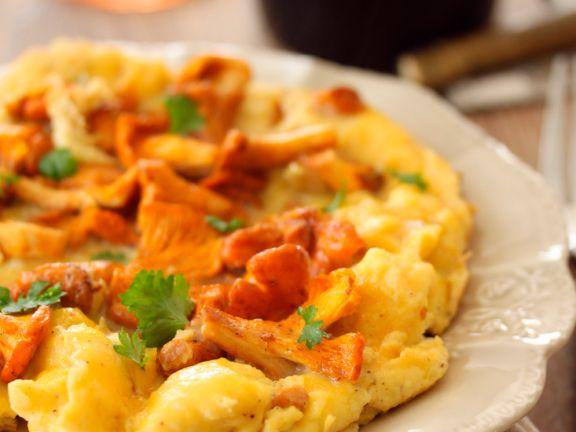 Pfifferlings-Omelett
