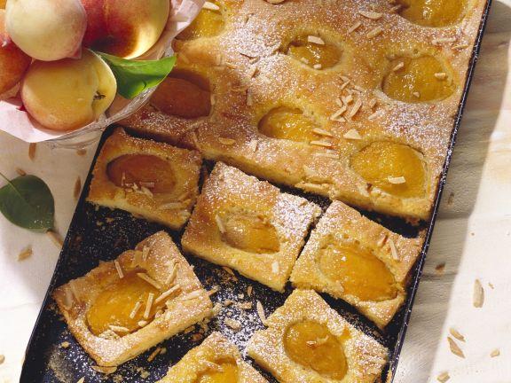 Pfirsichkuchen