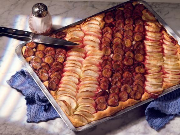 Pflaumen-Apfelkuchen