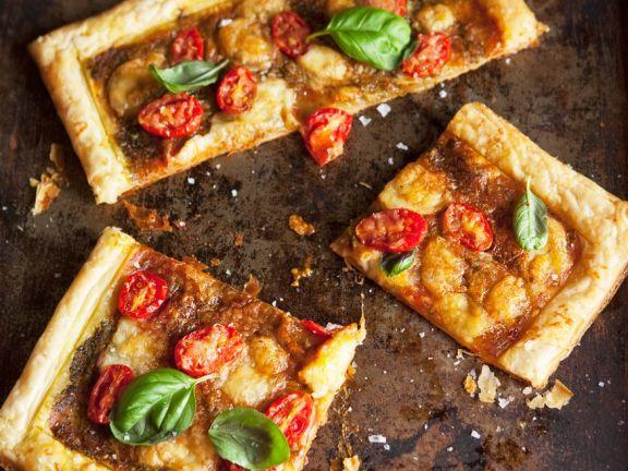 Pikante Blätterteig-Tarte