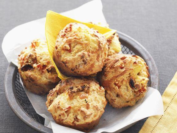 Pikante Pizza-Muffins