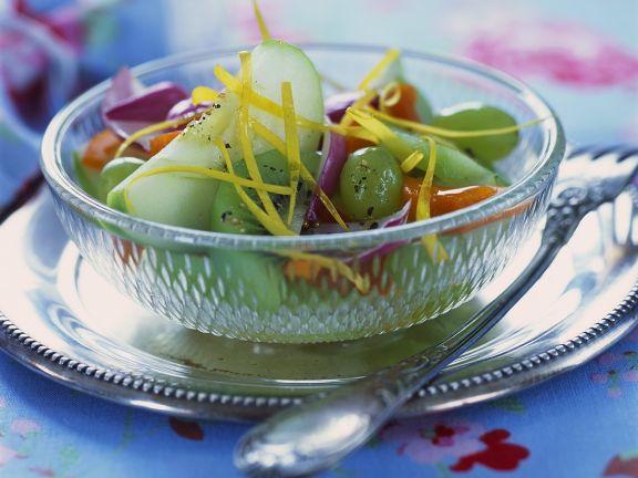 Pikanter Fruchtsalat