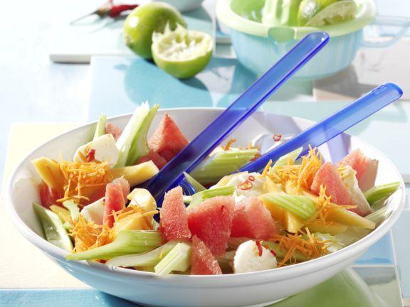 Pikanter Melonensalat