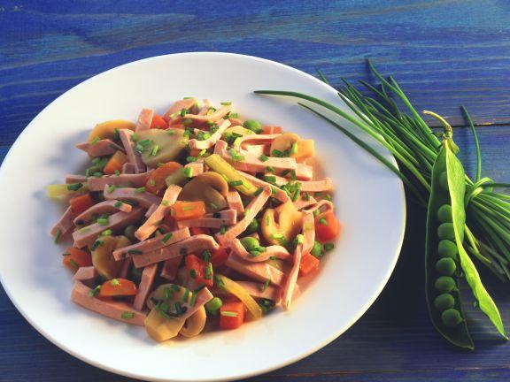 Pikanter Wurstsalat