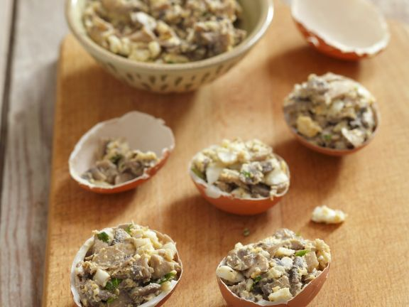 Pilz-Eier-Salat