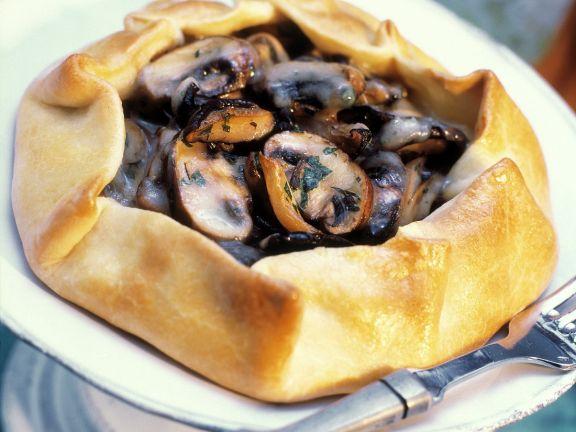Pilz-Tarte
