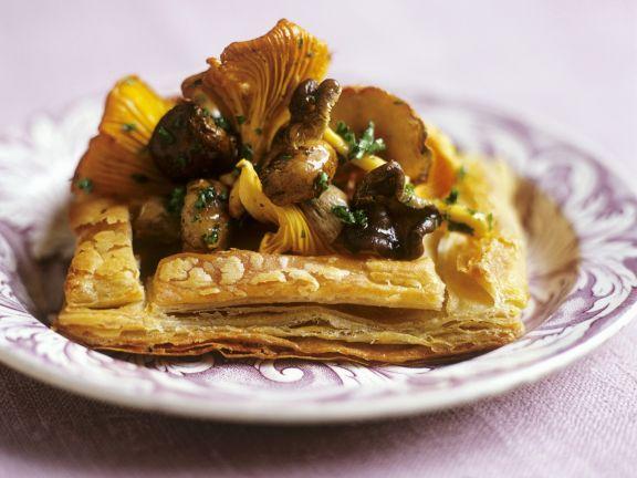 Pilz-Tartelett